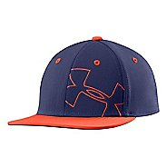 Kids Under Armour Boys Glow Stretch Fit Cap Headwear