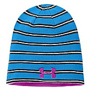 Kids Under Armour Boys Reversible Golf Stripe Beanie Headwear