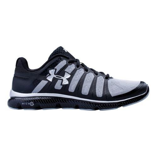Mens Under Armour Micro G PULSE II Running Shoe - Black 9.5