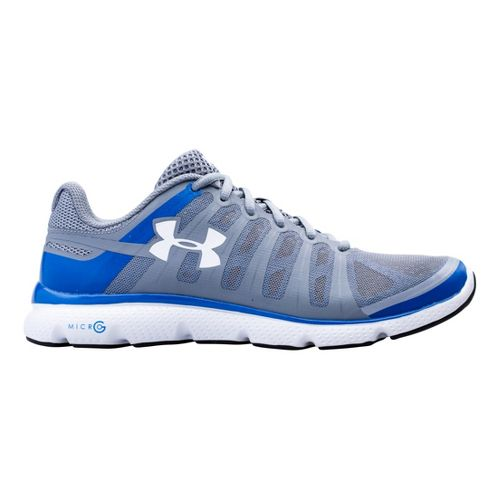 Mens Under Armour Micro G PULSE II Running Shoe - Steel 15