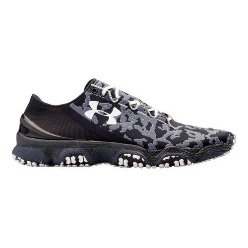 Mens Under Armour Speedform XC Running Shoe - Black 12.5