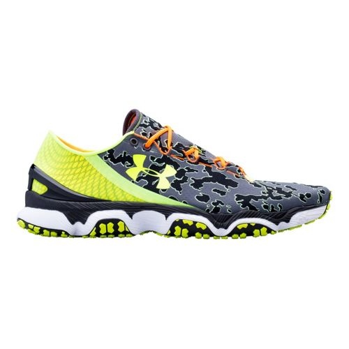 Mens Under Armour Speedform XC Running Shoe - Charcoal 12.5