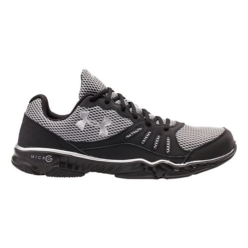 Mens Under Armour Micro G Pulse TR II Running Shoe - Black 9.5