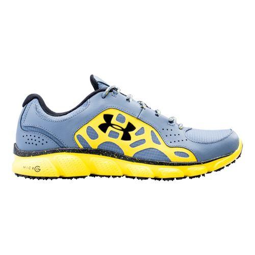 Mens Under Armour Assert IV Trail Running Shoe - Gravel 10.5