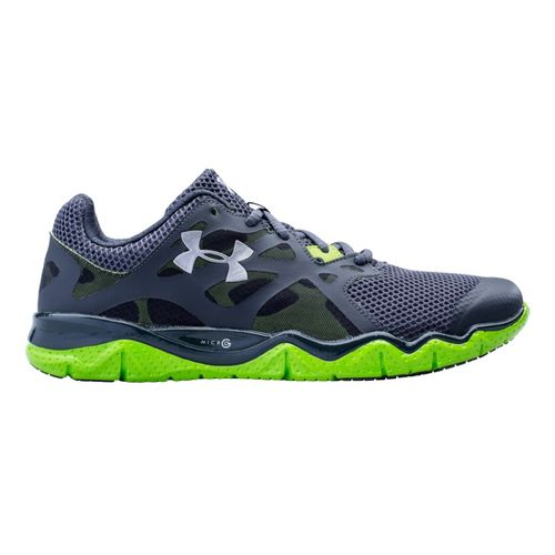 Mens Under Armour Micro G Monza Night Running Shoe - Lead 10.5