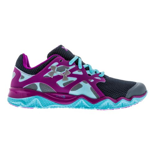 Womens Under Armour Micro G Monza Night Running Shoe - Charcoal 10.5
