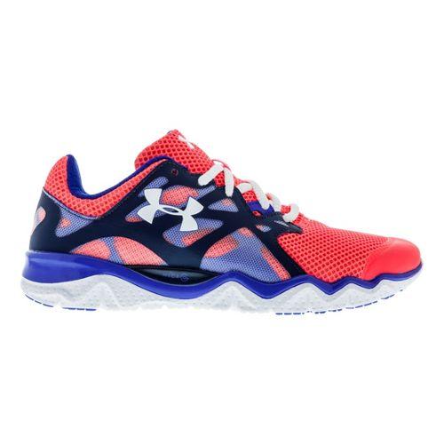Womens Under Armour Micro G Monza Night Running Shoe - Neo Pulse 10.5