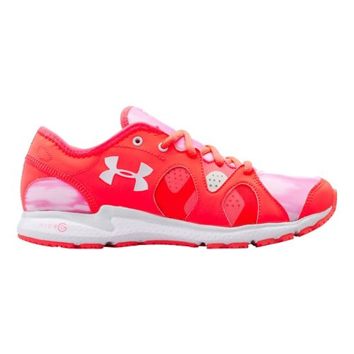 Womens Under Armour Micro G Neo Mantis Print Running Shoe - Neo Pulse 5