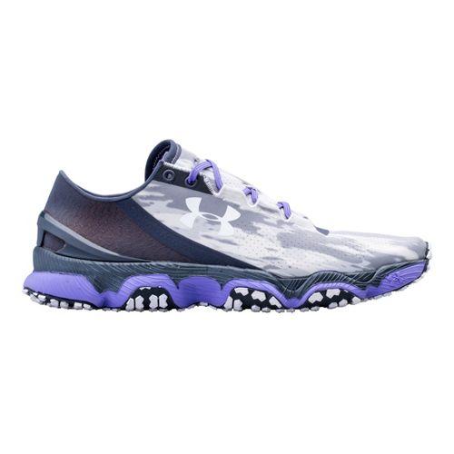 Womens Under Armour Speedform XC Running Shoe - Lead 8.5