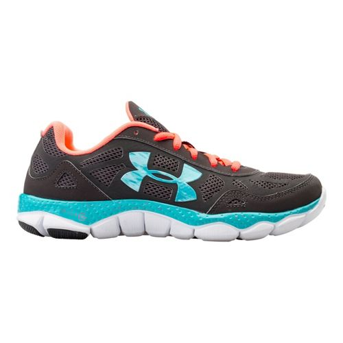 Womens Under Armour Micro G Engage BL Running Shoe - Charcoal 5