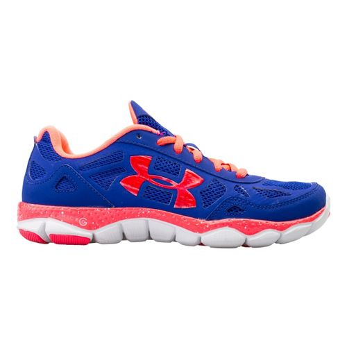 Womens Under Armour Micro G Engage BL Running Shoe - Siberian Iris 6