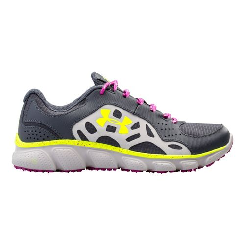 Womens Under Armour Micro G Assert IV Trail Running Shoe - Lead 11