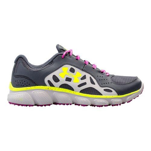 Womens Under Armour Micro G Assert IV Trail Running Shoe - Lead 7