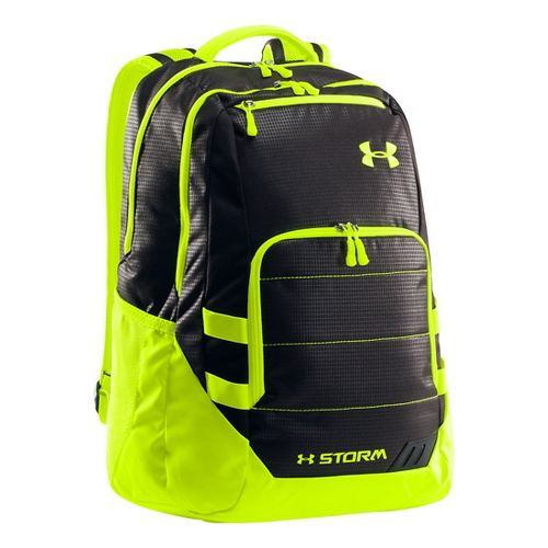 Under Armour Camden Backpack Bags - Black/High Vis Yellow