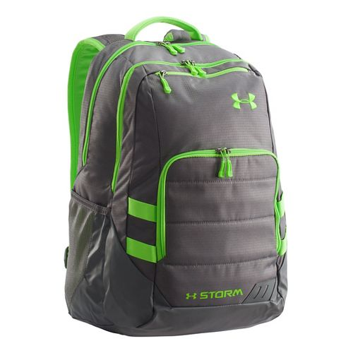 Under Armour Camden Backpack Bags - Graphite/Gecko Green