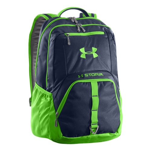 Under Armour Exeter Backpack Bags - Academy/Gecko Green