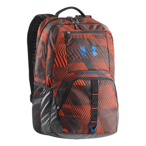 Under Armour Exeter Backpack Bags - Blaze Orange/Black