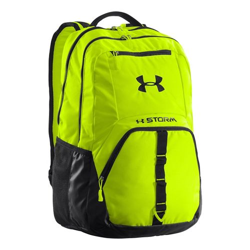 Under Armour Exeter Backpack Bags - High Vis Yellow/Black