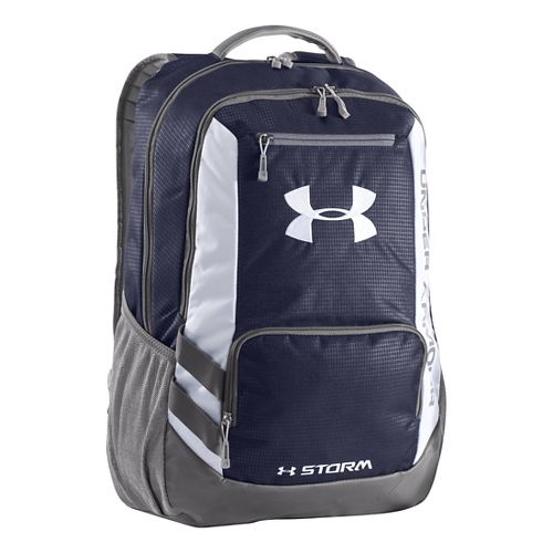 Under Armour Hustle Backpack Bags - Midnight Navy/Graphite