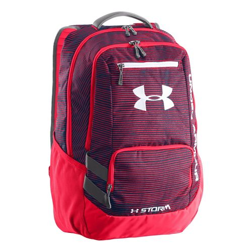 Under Armour Hustle Backpack Bags - Russian Nights/Neo Pulse