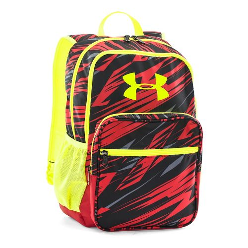 Under Armour Storm Backpack Bags - Risk Red/Yellow