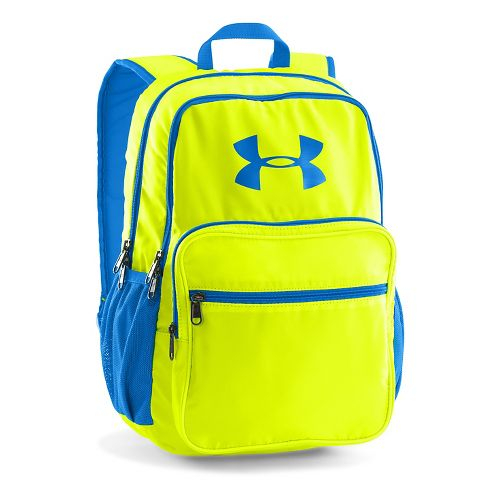 Under Armour Storm Backpack Bags - Yellow/Blue Jet