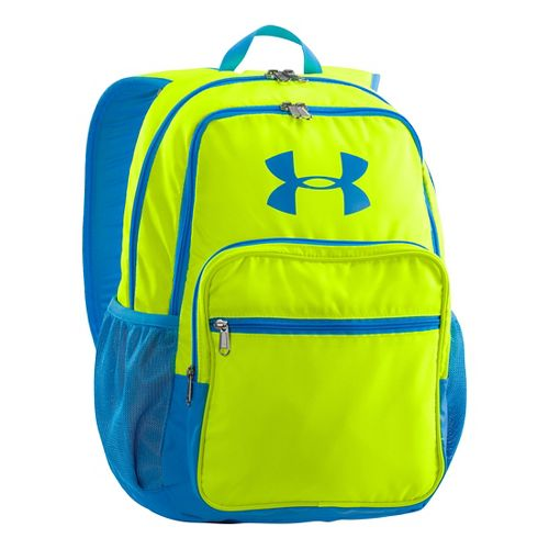 Under Armour Storm Backpack Bags - High Vis Yellow/Electric Blue