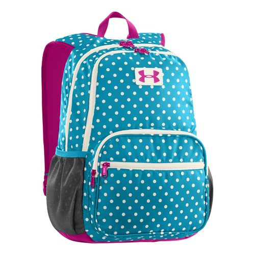 Kids Under Armour Girls Great Escape Backpack Bags - Teal Ice/Ivory