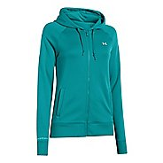 Womens Under Armour Fleece Full Zip Hoody Running Jackets