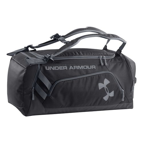Under Armour Contain Duffel Bags - Black/Steel
