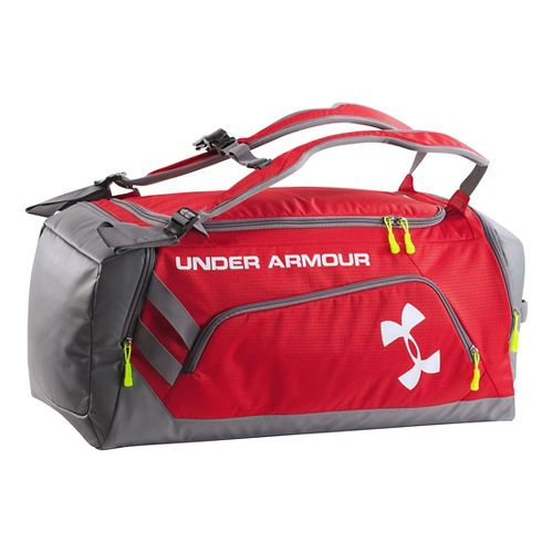Under Armour Contain Duffel Bags - Red/Graphite