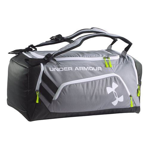 Under Armour Contain Duffel Bags - Steel/Black
