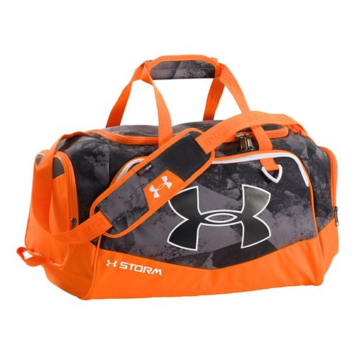 Under Armour Undeniable Duffel Small Bags - Graphite/Blaze Orange