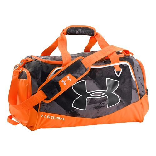 Under Armour Undeniable Duffel Medium Bags - Graphite/Blaze Orange