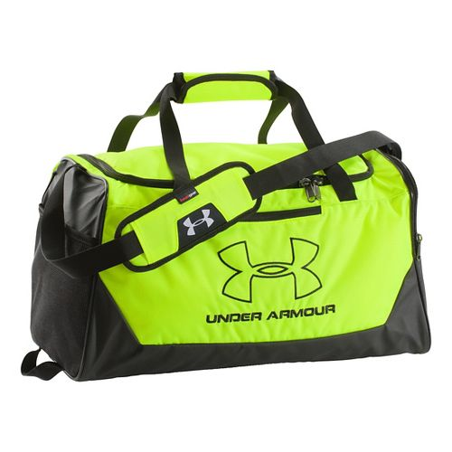 Under Armour Hustle-R Duffel Small Bags - High Vis Yellow