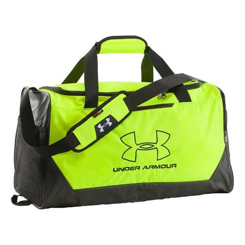 Under Armour Hustle-R Duffel Medium Bags - High Vis Yellow
