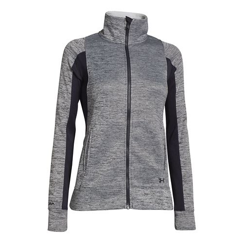 Womens Under Armour Infrared Full Zip Running Jackets - Black M