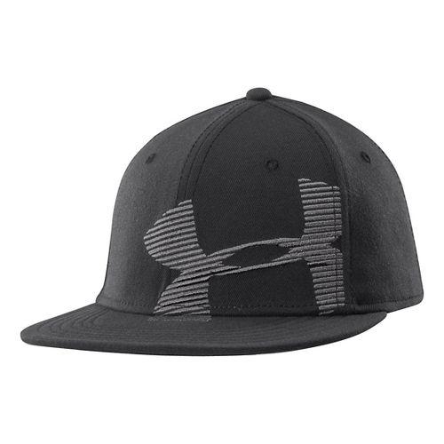 Mens Under Armour Gradient Cap Headwear - Black L/XL