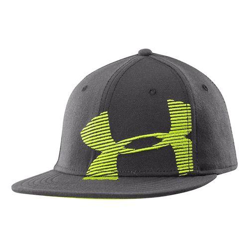 Mens Under Armour Gradient Cap Headwear - Graphite M/L