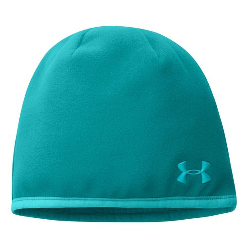 Womens Under Armour UA Storm Fleece Beanie Headwear - Aqueduct