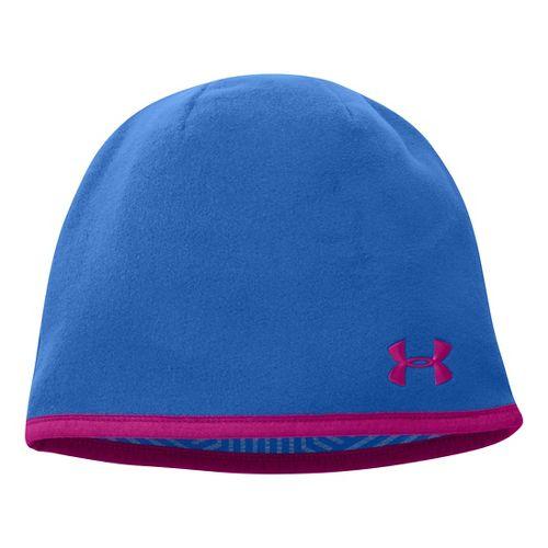 Womens Under Armour UA Storm Fleece Beanie Headwear - Sailing Blue