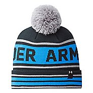 Kids Under Armour Boys Retro Pom Beanie Headwear