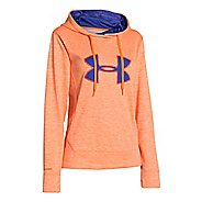 Womens Under Armour Big Logo Applique Twist Hoody Running Jackets