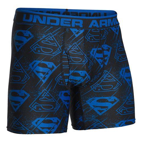 Mens Under Armour Alter Ego Boxer Brief Underwear Bottoms - Scatter/Black S