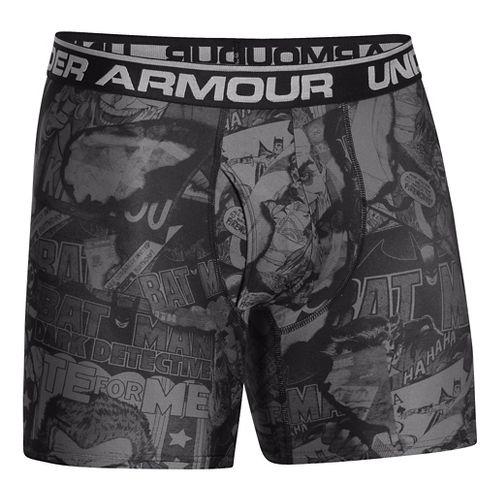 Mens Under Armour Alter Ego Limited Edition Boxer Brief Underwear Bottoms - Graphite/Steel XS