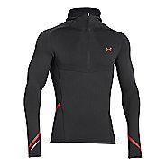 Mens Under Armour Stretch ColdGear 1/2 Zip Running Jackets