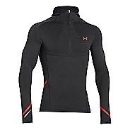 Mens Under Armour Stretch ColdGear 1/2 Zip Running Jackets