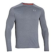 Mens Under Armour Elevated T Long Sleeve No Zip Technical Tops