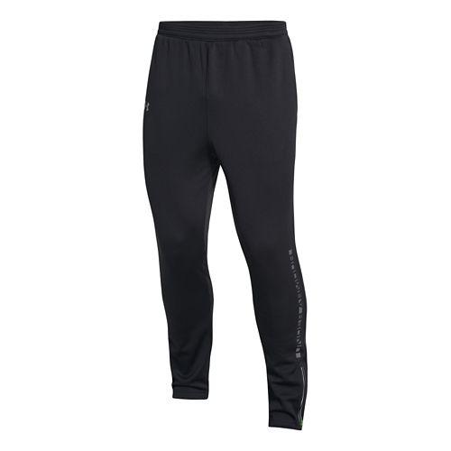 Mens Under Armour ColdGear Infrared Chrome Warm-Up Pants - Black L