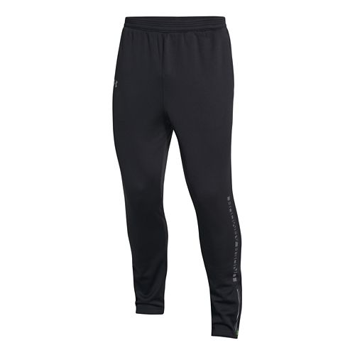 Mens Under Armour ColdGear Infrared Chrome Warm-Up Pants - Black M